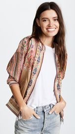 Scotch  amp  Soda Maison Scotch Twill Bomber Jacket at Shopbop