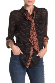 Scotch and Soda Dual Print Blouse at Nordstrom Rack