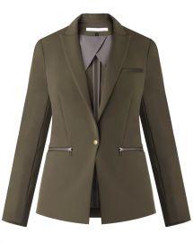 Scuba Jacket at Veronica Beard