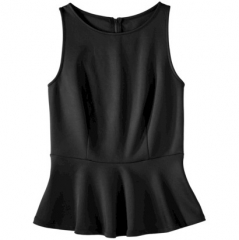 Scuba Peplum Top by Mossimo at Target