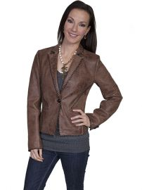 Scully L173 Leather Jacket at Amazon
