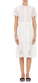 Sea Cotton Eyelet Belted Shirtdress at Barneys