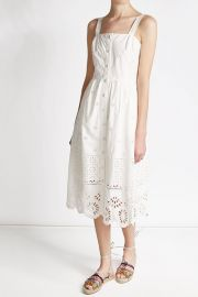 Sea Eyelet Dress at Stylebop
