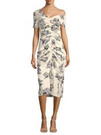 Sea - Josephine Ruched Dress at Saks Fifth Avenue