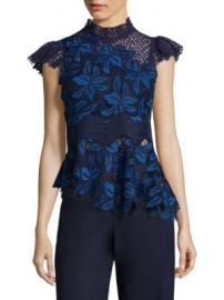 Sea - Mosaic Lace Tank Top at Saks Fifth Avenue