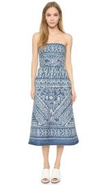 Sea Bleached Strapless Dress at Shopbop