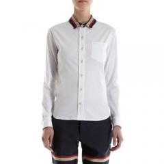 Sea Contrast Collar Shirt at Barneys