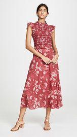 Sea Monet Smocked Midi Dress at Shopbop