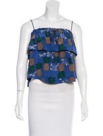 Sea Pineapple Print Top at The Real Real