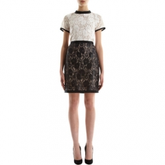Sea Two-Tone Lace Dress at Barneys