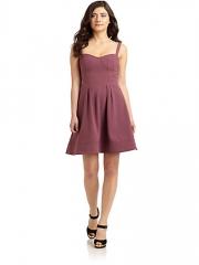 Seamed bustier dress by Z Spoke at Saks Fifth Avenue