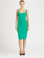 Seamed crepe dress by Michael Kors at Saks Fifth Avenue