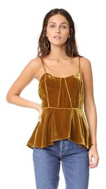 Sebastian Peplum Bustier Cami by Veronica Beard at Shopbop