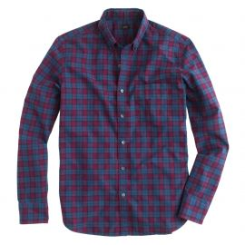 Secret Wash Shirt in Atlantic Bay Flannel at J. Crew