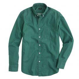 Secret wash shirt in foulard print at J. Crew