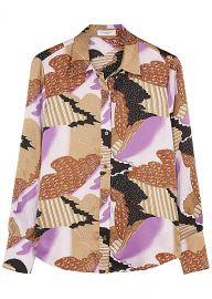 Sedienne Print Silk Blouse by Equipment at Harvey Nichols