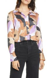 Sedienne Print Silk Blouse by Equipment at Nordstrom