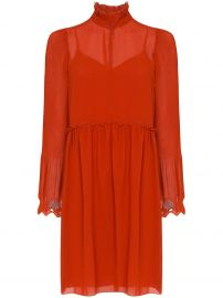 See by Chlo   embellished georgette dress embellished georgette dress at Farfetch