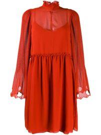 See By Chlo   Embellished Georgette Dress - Farfetch at Farfetch
