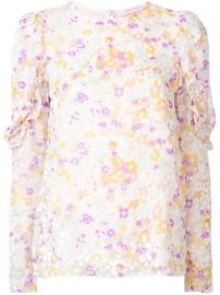 See By Chlo   Floral Ruffle Blouse - Farfetch at Farfetch