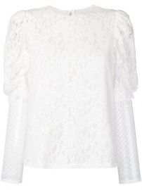 See By Chlo   Longsleeved Lace Blouse - Farfetch at Farfetch