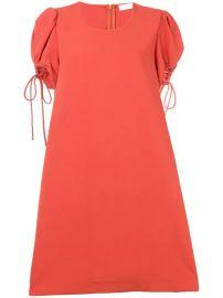 See By Chlo   puff-sleeve Dress - Farfetch at Farfetch