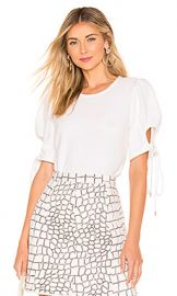 See By Chloe Puff Sleeve Blouse in White from Revolve com at Revolve