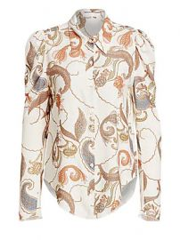 See by Chlo   - Paisley Silk Blouse at Saks Fifth Avenue