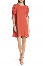 See by Chlo   Cinch Sleeve Shift Dress   Nordstrom at Nordstrom