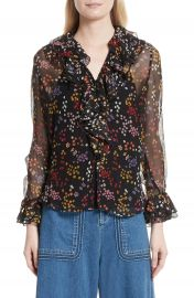See by Chlo   Floral Silk Blouse at Nordstrom