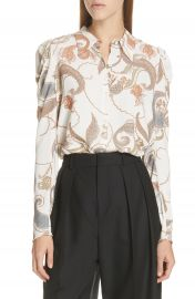 See by Chlo   Paisley Puff Sleeve Blouse   Nordstrom at Nordstrom