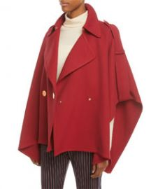 See by Chloe Snap-Front Trench Cape at Bergdorf Goodman