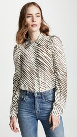 See by Chloe Zebra Blouse at Shopbop