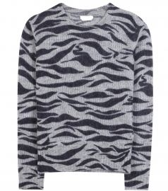See by chloe zebra sweater at My Theresa
