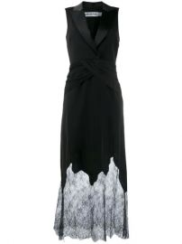 Self-Portrait Lace Tuxedo Dress - Farfetch at Farfetch