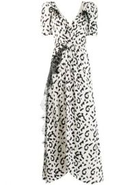 Self-Portrait Leopard Print Long Dress - Farfetch at Farfetch