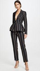 Self Portrait Tailoring Stripe Jumpsuit at Shopbop