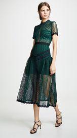 Self Portrait Wave Lace Dress at Shopbop