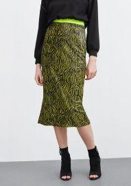Sequin Animal Skirt at Zara