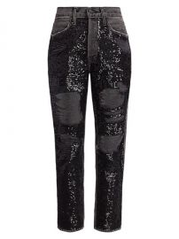 Sequin Jeans by Frame at Saks Fifth Avenue