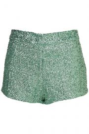 Sequin Knicker Shorts by Topshop at Topshop