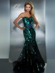 Sequin Mermaid Gown by Mac Duggal at TJ Formal