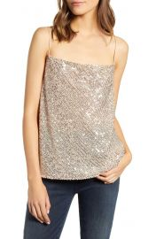Sequin camisole at Nordstrom