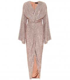 Sequined gown at Mytheresa