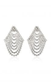 Seraphina Cascade Earrings by Jennifer Behr at Moda Operandi
