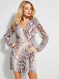 Serasota Wrap Dress at Guess