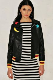 Serena Star Jacket at Nasty Gal