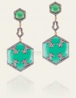 Serena's earrings at Danielle Queller
