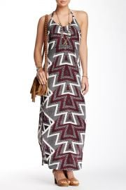 Serves You Right Print Maxi Dress at Nordstrom Rack