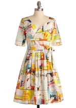 Sew it like you mean it dress at Modcloth at Modcloth